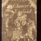 LIVING IN Chaucer's England DUNCAN TAYLOR hcdj 1964