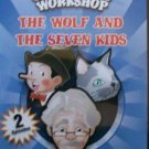 3 CARTOONS DVD -  GEPPETO WORKSHOP WOLF SEVEN ALLADIN