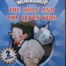 3 CARTOONS DVD -  GEPPETO WORKSHOP WOLF SEVEN ALLADIN