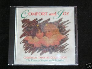 COMFORT AND JOY CHRISTMAS MUSIC CD