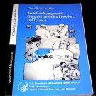 ACUTE PAIN MANAGEMENT BOOK CLINICAL PRACTICE GUIDELINE