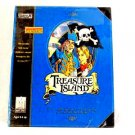CHILDREN'S TREASURE ISLAND CD-ROM computer PC