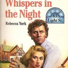 Harlequin book - Whispers in the Night paperback book