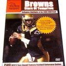 BROWNS FOOTBALL DVD 2005-2006 DRAFT STARS football dvd draft picks + fantasy football highlights