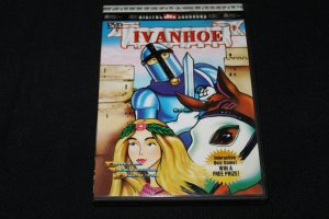 IVANHO Ivan Ho CARTOON DVD MEDIEVAL CARTOON animation animated movie dvd Medieval classic story dvd