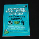 READY-TO-USE SOCIAL STUDIES ACTIVITIES BOOK grades 3-8 book