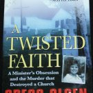 TWISTED FAITH True Crime Paperback Book on true crime story case paperback book killer murder book
