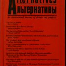Socialist Alternatives - Winter 1993 Vol. 2 No. 1 semi-annual socialism journal