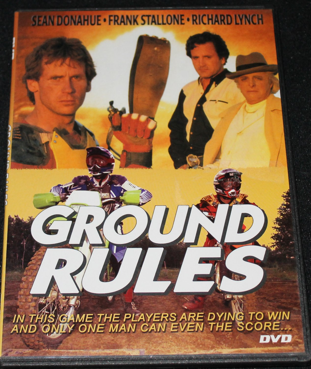 Ground Rules dvd Frank Stallone action dvd movie brutal sports watch