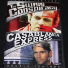 DOUBLE FEATURE DVD Swiss Conspiracy Casablanca Express full movies film cinema good best movies