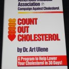 Count Out Cholesterol hardcover book lower cholesterol healthy level cholesterol book