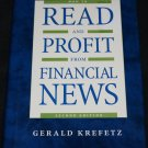 Read and Profit From Financial News book how to make making bucks Money cash assets get dollars rich