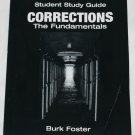 Corrections The Fundamentals student study guide law prison incarceration jail penitentiary book