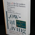 Low-Fat Living weight loss low fat heath slim fit trim book hardcover book Robert Cooper