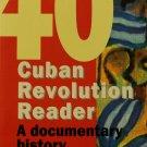 Cuban Revolution Reader paperback book Julio Garcia Luis