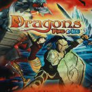 Dragons Fire & Ice - DVD cartoon animation adventure cartoon dvd animated movie