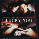 LUCKY YOU DVD - Drew Barrymore & Robert Duvall - drama film dvd