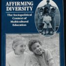 Affirming Diversity book by Sonia Nieto