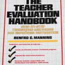 The Teacher Evaluation Handbook hardcover book education educator book