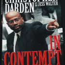 In Contempt hardcover book by Christopher Darden O.J. Simpson murder trial case book true crime book