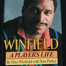 Winfield A Player's Life by Dave Winfield MLB baseball bio biography sports Padres book