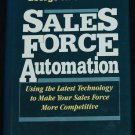 Sales Force Automation business money sell selling book instruction financial income book