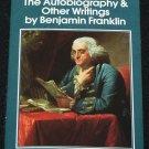 Ben Franklin Autobiography & Other Writings paperback book history Bejamin Franklin book