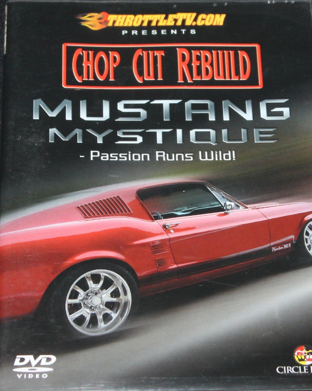 Chop Cut Rebuild Mustang Mystique DVD speed channel car auto repair fix how to instruction DVD