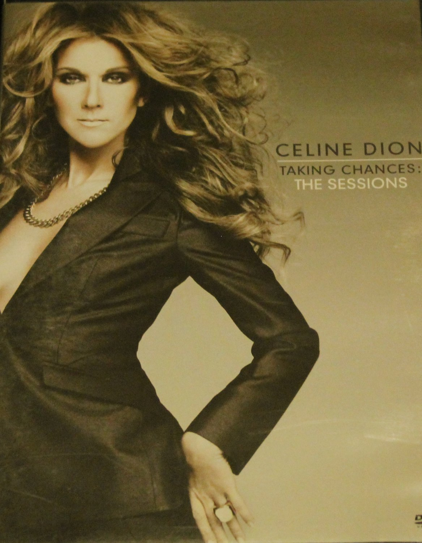 Celine Dion Taking Chances the Sessions dvd songs pop music singer dvd celene dion dvd