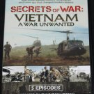 A War Unwanted Secrets of the Vietnam War documentary history DVD 5 episodes dvd