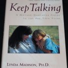 Keep Talking Mother Daughter Guide book parent parenting tween Pre-Teen girls pre teenager book