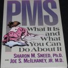 PMS What It Is and What You Can Do About It about pms book on PMS premenstrual pre menstrual book
