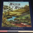 Water to Wine Christian book Joseph Davis Christ Christian God book jesus religious religion book