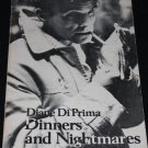 Dinners and Nightmares book paperback by Diane Diprima paperback book