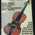 Spotlight on Violin Series 1 Concertos music cassette tape