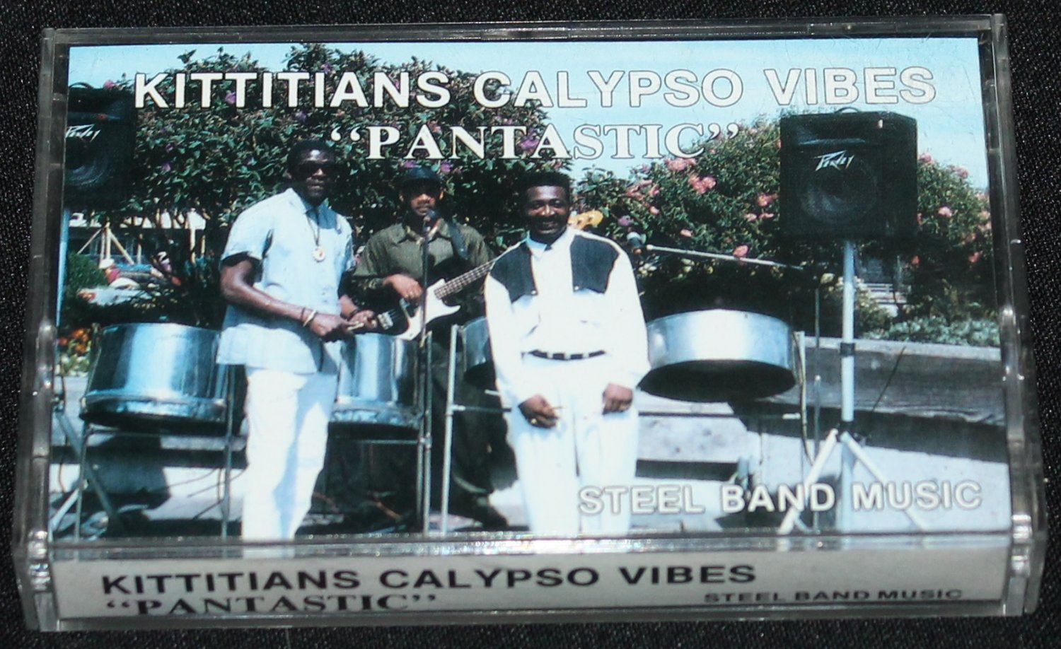 Afro-Caribbean steel drums band Kittians Calypso Vibes pantastic African Caribbean music cassette