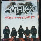Anthrax Attack of the Killer B's heavy metal album music songs cassette tape