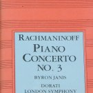 1984 Rachmaninoff Piano Concerto No. 3 music  - classical music cassette tape