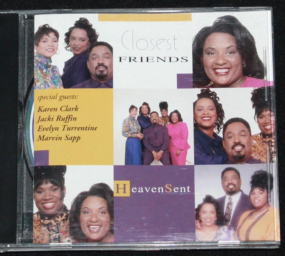 Heavensent CD - Closest Friends album - contemporary Christian gospel pop music heaven sent cd