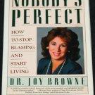 Nobody's Perfect self help paperback book self-improvement book