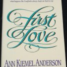 First Love - Christian book - religion religious hardcover book - dedication God spiritual book