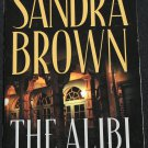 The Alibi - suspense novel book by Sandra Brown hardcover