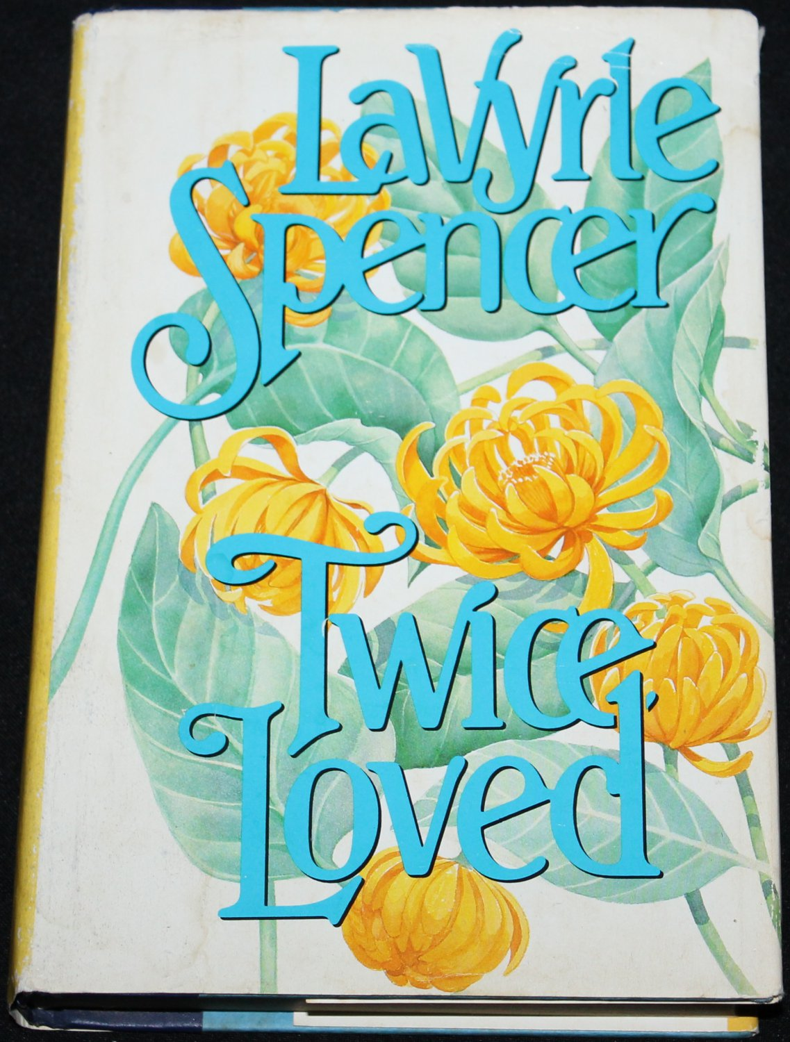 1984 Twice Loved romance hardcover book by LaVyrle Spencer