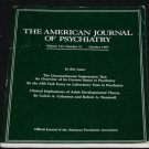 American Journal Psychiatry 1987 psychiatric mental mind brain medication medicine Dr. book articles
