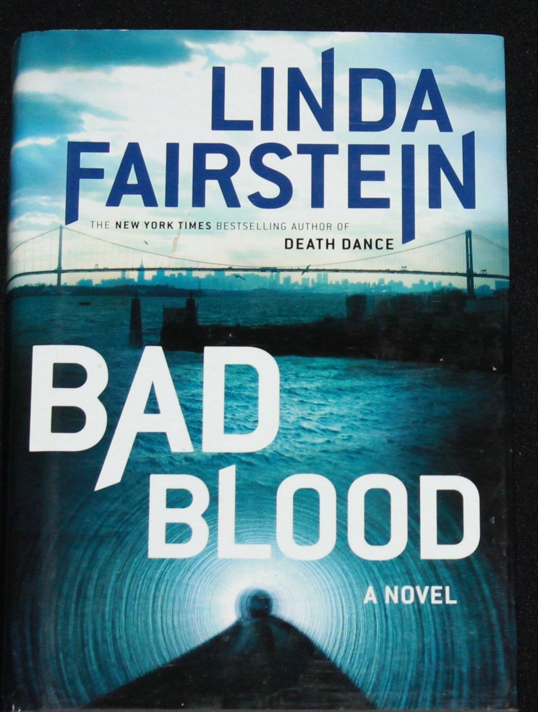 Bad Blood novel by Linda Fairstein thriller suspense  hardcover book
