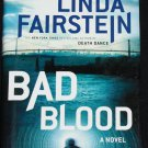 Bad Blood novel by Linda Fairstein thriller suspense  hardcover book