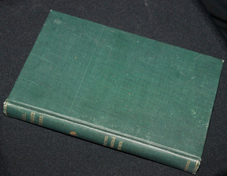 1909 book - John L. Stoddard's Lectures hardcover book copyright 1909 vintage antique book