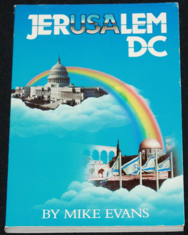 Jerusalem DC - religious Christian book religion God paperback book Mike Evans