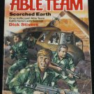 1984 Able Team Scorched Earth action adventure book by Dick Stivers paperback book