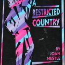 Restricted Country - lesbian femininsm book Joan Nestle lesbian feminist autobiographical book
